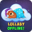 Lullaby for babies offline icon