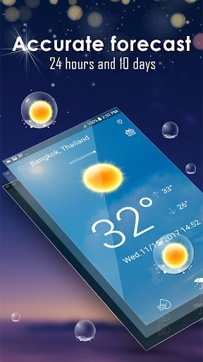 Hourly weather forecast Apk 2