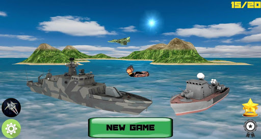 Sea Battle 3D PRO: Warships apklade screenshots 1