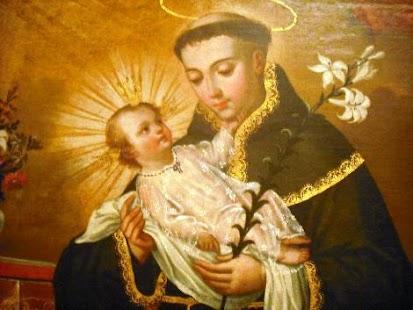 San Antonio y divino niño - náhled