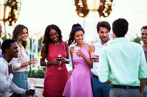 Head to the Rooftop Garden to meet new friends on your Celebrity Edge class cruise.