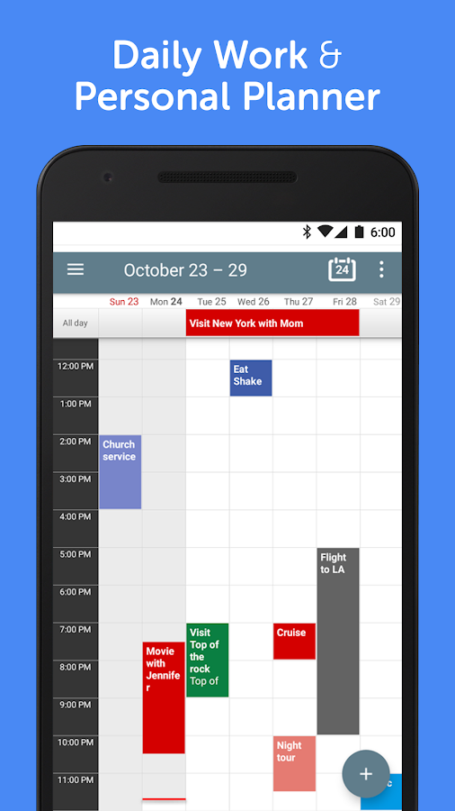 Calendar+ Schedule Planner App- screenshot