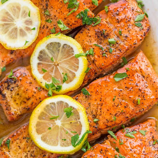 Pan Seared Salmon with Lemon Butter (VIDEO).