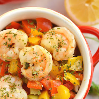10 Minute Shrimp & Rice {GF, Low Cal} Recipe