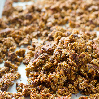 Double-Chocolate Quinoa Granola