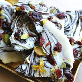 Swirled Chocolate Bark.