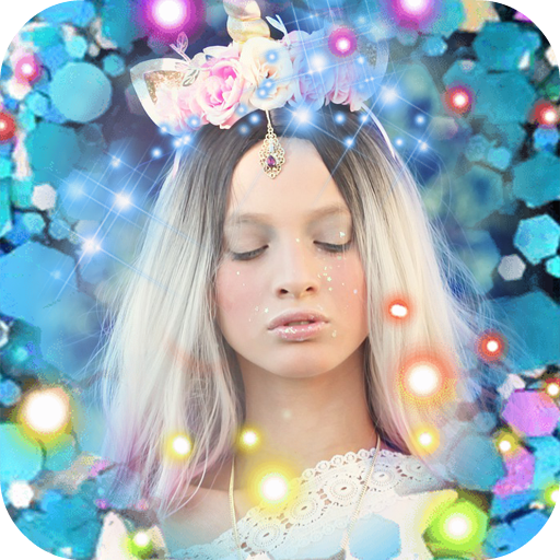 Magic Frame: Sparkle Photo Effect for Pictures Icon