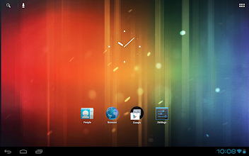 Photo: Your home screen on a clean install of EOS Rel 2
