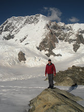 Photo: Bill and Aoraki/Mt Cook - the morning after.