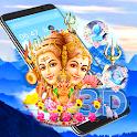 Lord Shiva 3D Parallax Launcher Theme 🕉 icon