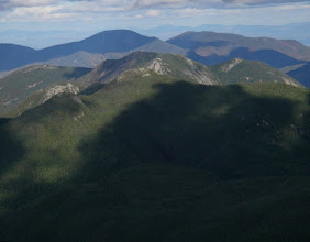 Photo: Basin, Gothics, Giant, Rocky Peak Ridge, and a distant Camel's Hump from Mount Marcy.