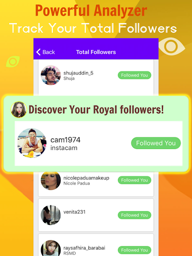 Analytics for Instagram - Followers Likes Reposts 1.0 screenshots 2