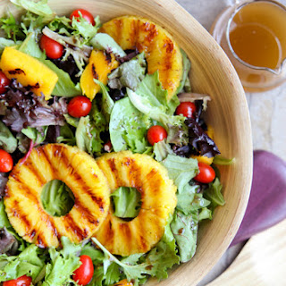 Grilled Tropical Summer Salad.