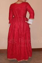 Photo: Vestido Medieval com corset embutido em camurça e algodão ( com anágua), acabamento em gorgorão bordado.   Site: http://www.josetteblanchard.com/  Facebook: https://www.facebook.com/JosetteBlanchardCorsets/  Email: josetteblanchardcorsets@gmail.com josetteblanchardcorsets@hotmail.com