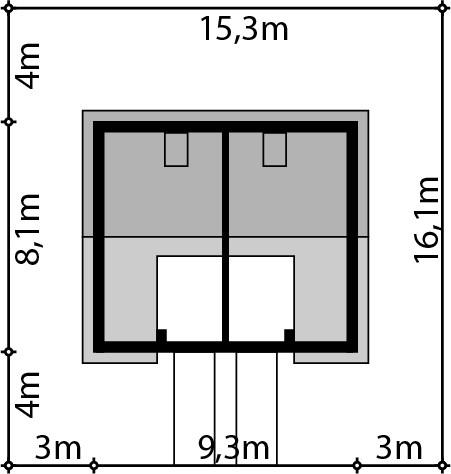 Morski 1 jednorodzinny dwulokalowy - Sytuacja