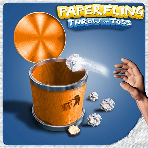 Paper Fling : Throw or Toss !