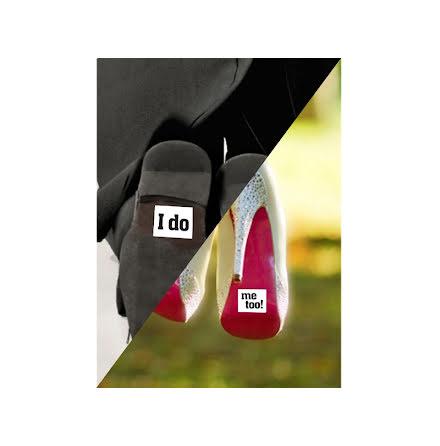 Skoklistermärken - I do / Me too