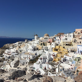 Oia Santorini  by John Koidis - Buildings & Architecture Public & Historical ( greece, oia, vacation, santorini, travel )