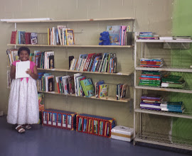 """Photo: Kaleya being trained to be the """"librarian"""""""