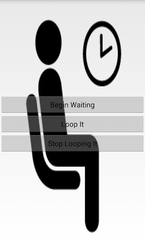 The Button of Waiting