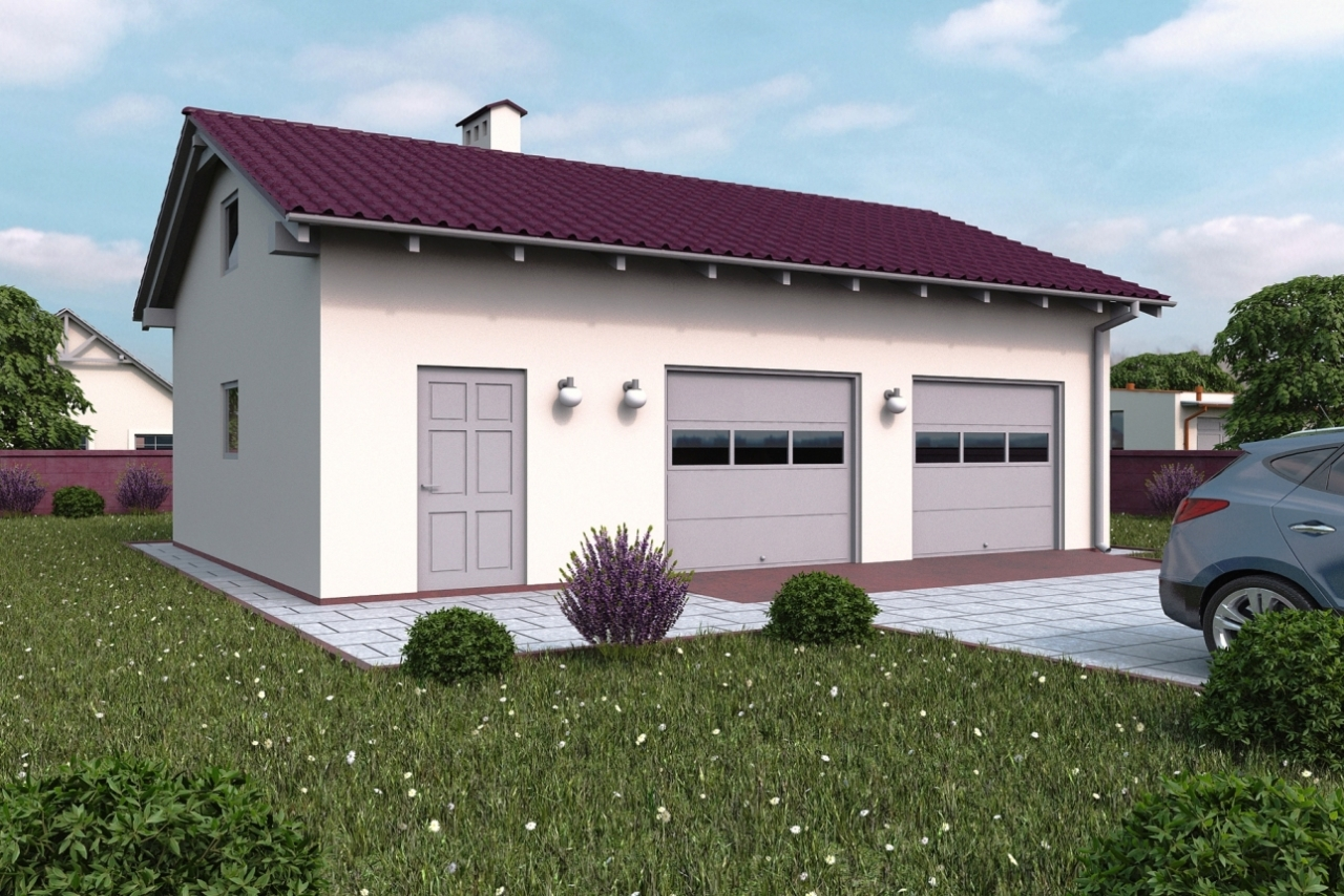 Projekt Garażu G114 Thx 773 5712m²