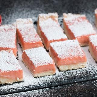1. Strawberry Lemonade Bars
