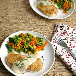 White Sauce For Chicken Cordon Bleu Recipes.