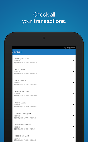 android AirCoinz Screenshot 7