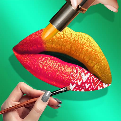 Lips Done! Satisfying 3D Lip Art ASMR Game