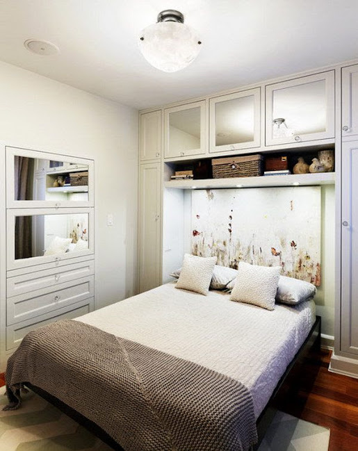 trang trí phòng ngủ nhỏ đơn giản