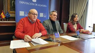 Los diputados socialistas Antonio Gutiérrez, Marcelo López y Carmen Aguilar.