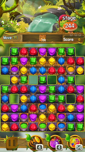 Candy forest fantasy : Match 3 Puzzle  screenshots 8