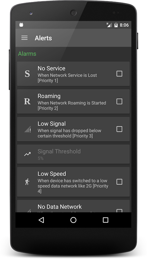 Mobile Signal- screenshot