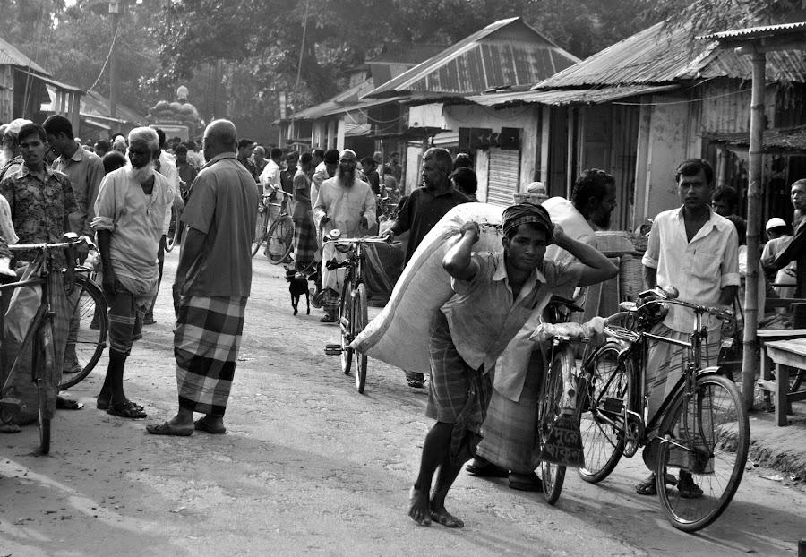 Village Market Day by Rezwan Saikat - People Street & Candids ( market, village, street, daily, people, labour )