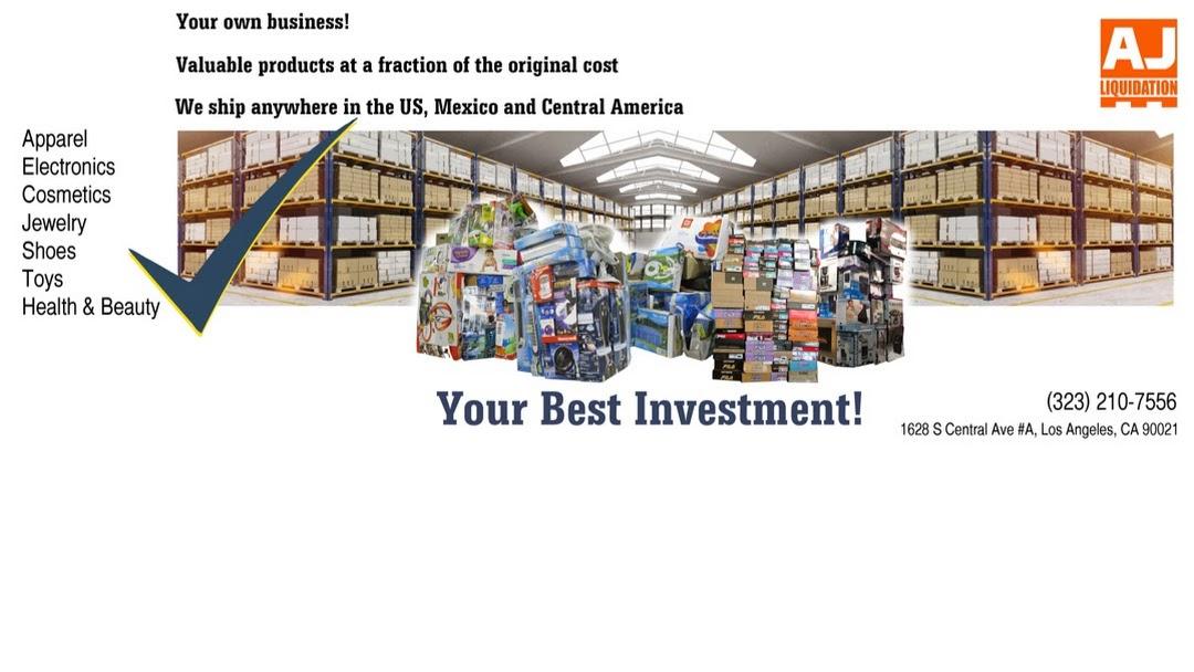 AJ Liquidation - Wholesaler in Los Angeles