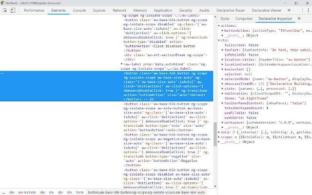 Declarative Chrome Extension