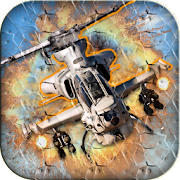 🚁Gunship Air Helicopter War 2018- Helicopter game