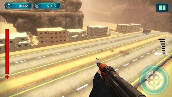 Apache Gunship Attack - Air Shooting Game - náhled