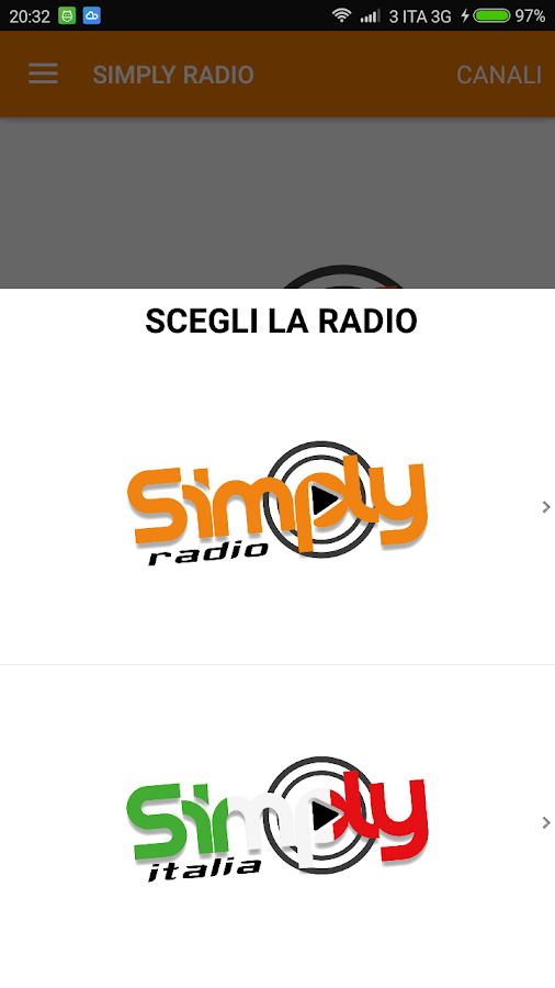 Simply Radio- screenshot