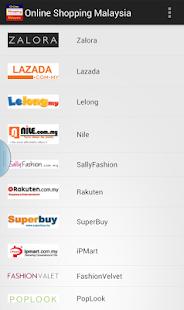 Online Shopping Malaysia - náhled