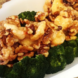 Honey Walnut Shrimp and Calamari