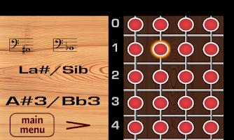 Screenshot of Guitar Bass Notes