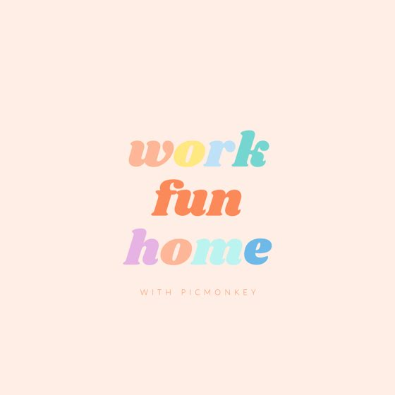 Work Fun Home - Instagram Post Template