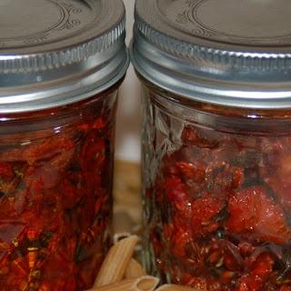 Rosemary Basil Sun Dried Tomatoes.