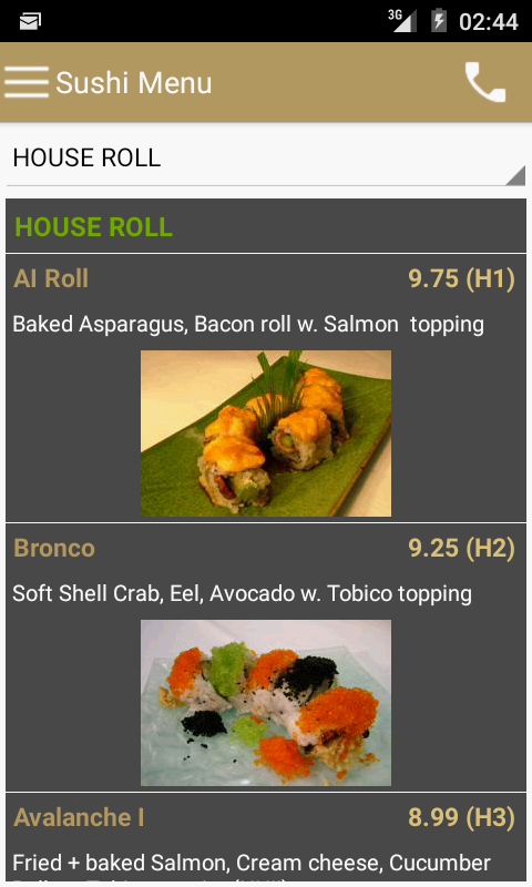 Ai Sushi & Grill- screenshot