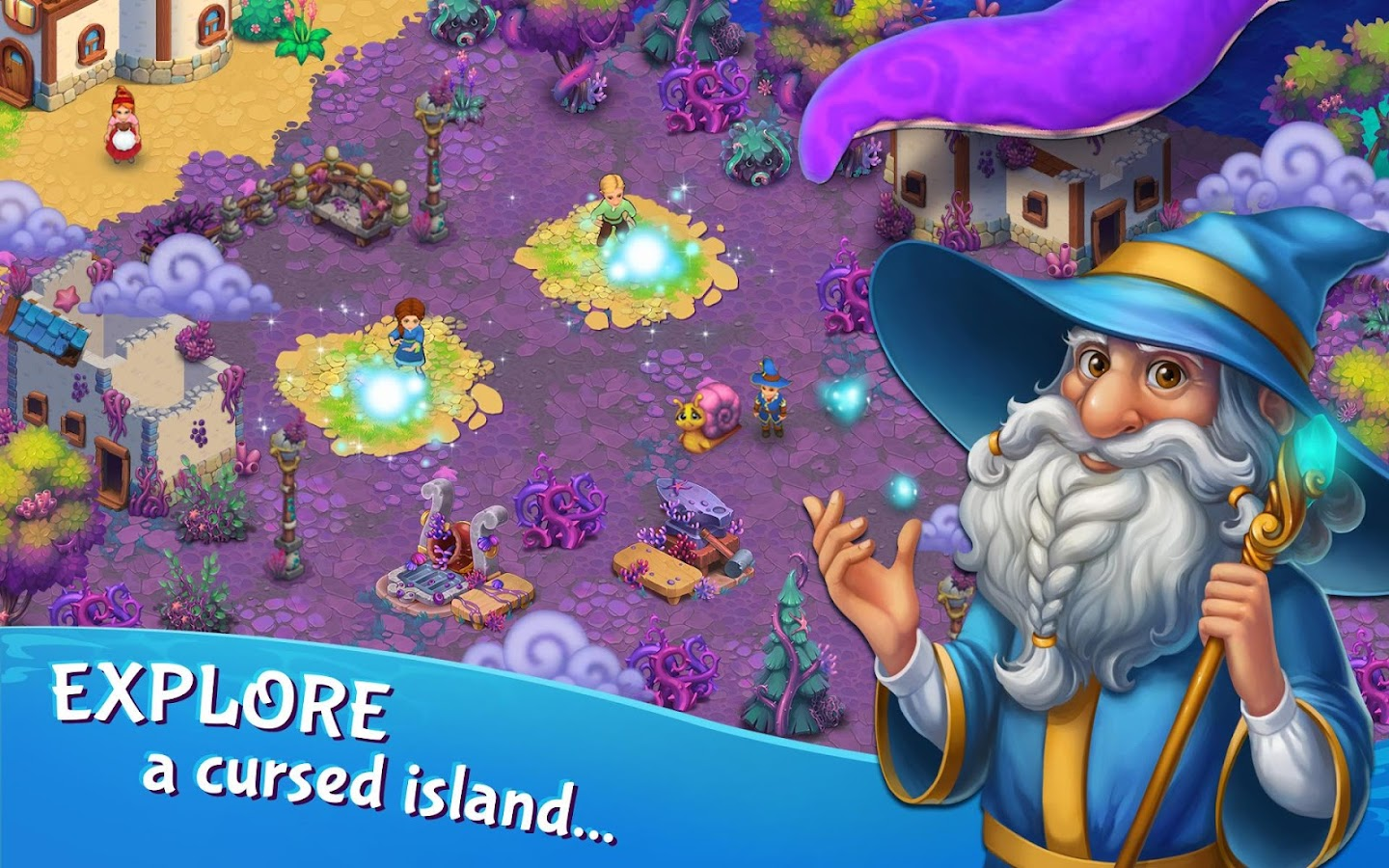 Tidal Town – A New Magic Farming Game (Unreleased)- screenshot