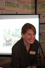 Photo: WLEB Program Coordinator Noelle Sevoian