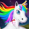 Baby Unicorn Wild Life: Pony Horse Simulator Games icon