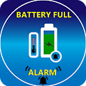 Full Battery Charged Alarm-Stop phone overcharging icon