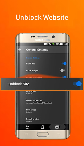 Azka Anti Block Browser - Unblock without VPN screenshots apkshin 2